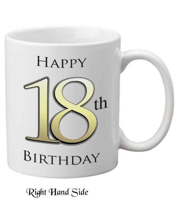 18th Birthday Delight Personalised Mug