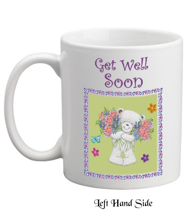 Naturally Irish Get Well Soon Teddy Amp Flowers