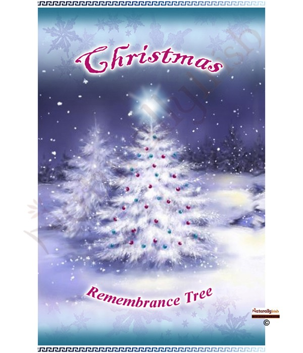 Tree and Snowflake Christmas Remembrance