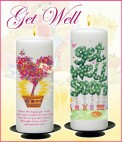 Get Well Soon Candles - NaturallyIrish.ie Tel: 045 837783