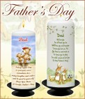 Fathers Day Candle - NaturallyIrish.ie Tel: 045 837783