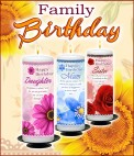 Family Birthday Candles