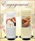 Engagement Candles - NaturallyIrish.ie Tel: 045 837783