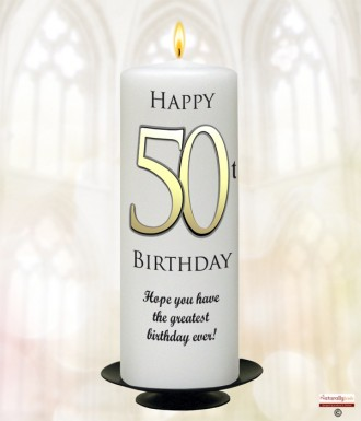 Related Products 70th Birthday Delight Gold 9inch Candle