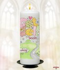 Flower Garden Get Well Soon Candle