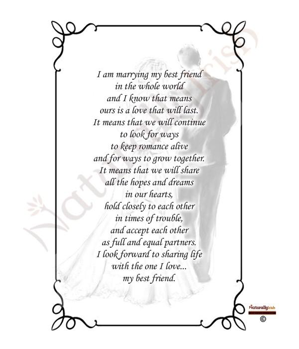 Wedding Gift Registry Ireland: Vintage Bride & Groom Black Script