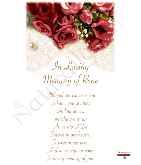 Related Products Red Rose Silver Wedding Remembrance Candle