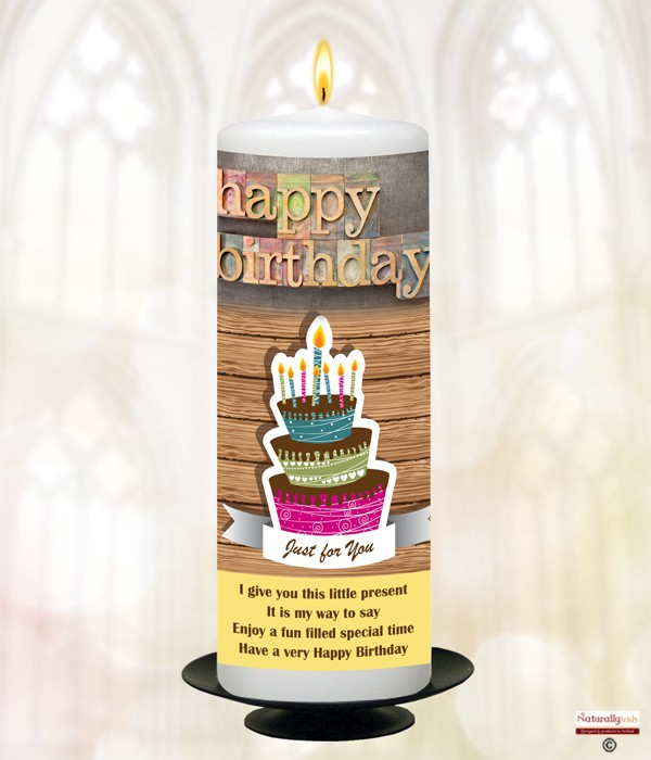 Personalised Birthday Candles Great Gift Ideas For Birthdays