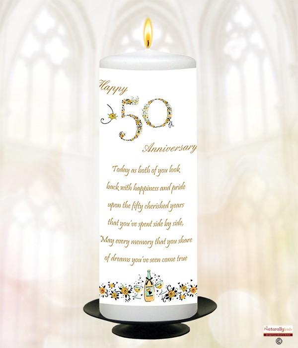 Wedding Gift Registry Ireland: Numbers Happy 50th Anniversary 9inch