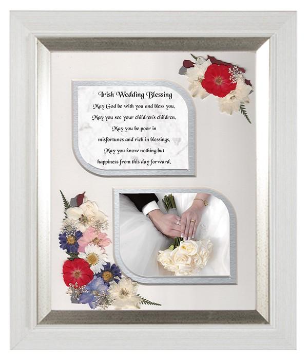 Irish Wedding Gifts From Ireland: Irish Wedding Blessing, Flowers & Verse